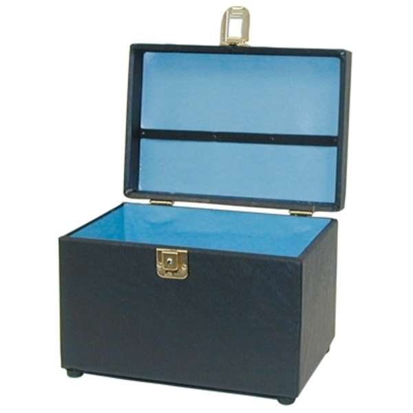 City Lights Duratex Train Case Small (615-BK)