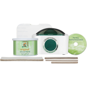 Clean & Easy Pot Wax Mini Kit WarmerWaxSticks (I
