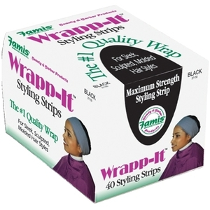 Famis Wrapp-It Black 18 Boxes per Case (37150)