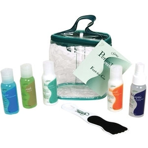 Gena Feet-To-Go Travel Kit 6 Piece With Tote (GN