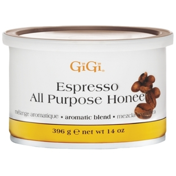 GiGi All Purpose Honee Expresso Wax 14 oz. (GG-0