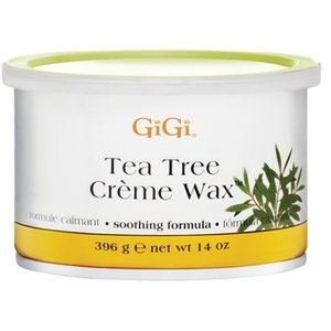 GiGi Creme Wax With Tea Tree Oil 14 oz. Jar (GG-
