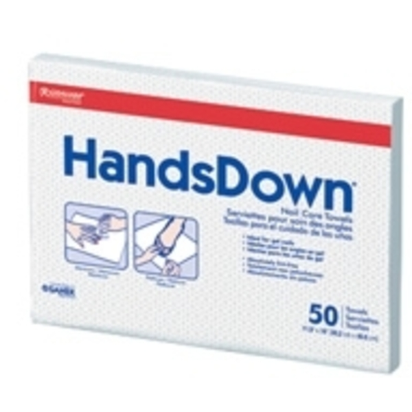 "Graham Handsdown Nail Care Towels 12"" X 16"" 50"