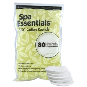 "Graham Spa Essentials Cotton Rounds 2.25"" 80 C"