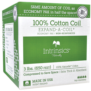 Intrinsics Economy Pak - 100% Cotton Coil Non-Reinforced (IN100620)