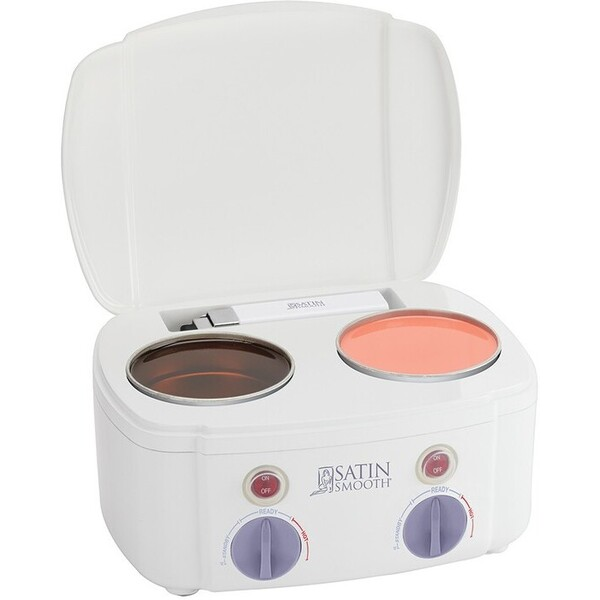 Jilbere Satin Smooth Pro Double Wax Warmer 2 Tub (