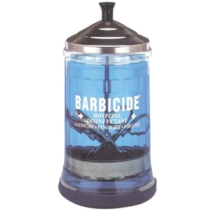 King Research Barbicide Midsize Mani Jar 21 oz.