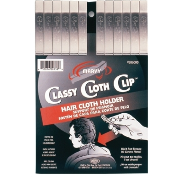 Marvy Cloth Clip 12 per Card (M-50)