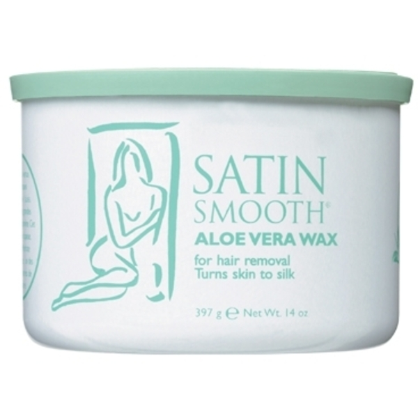 Satin Smooth Aloe Vera Wax 14 oz. (SSW14AV)