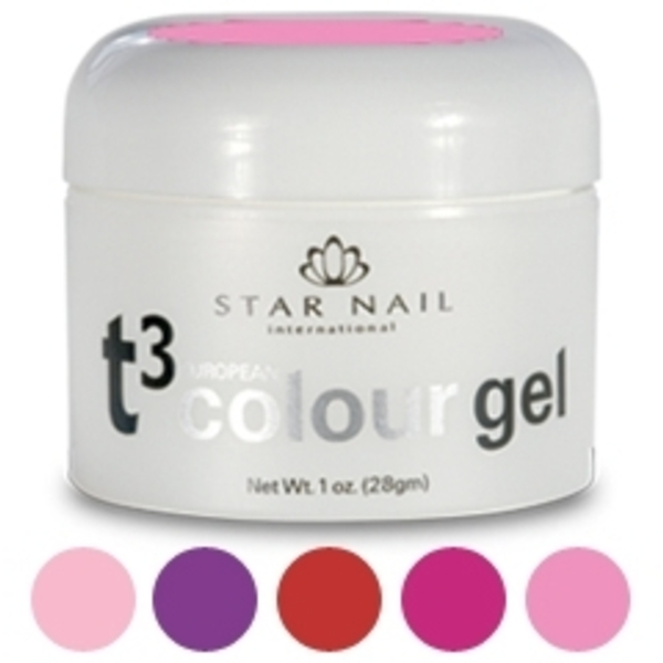 Star Nail Colour Gel 1 oz. Portfolio Plum (ST-58)