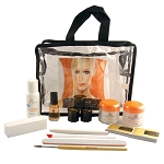 Star Nail Deluxe Med Set Ultra Clear Acrylic Kit (