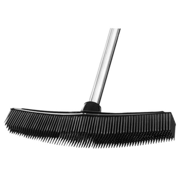 Static-Free Rubber Broom Black (BBC-1)