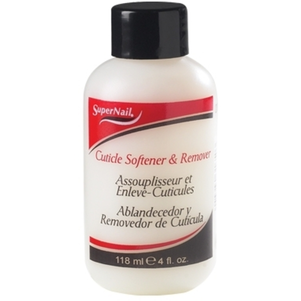 Supernail Cuticle Softener Remover 4 oz. Bottle