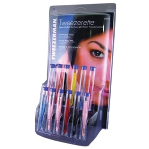 Tweezerman Tweezerette Display 12 Piece Tubed Sl