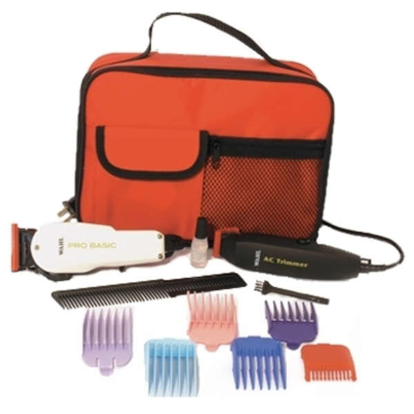 Wahl Clipper Trimmer Kit In Red Bag (8480-100)