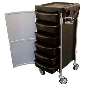 Celebrity 6-Tray Lockable Salon Trolley (9022)
