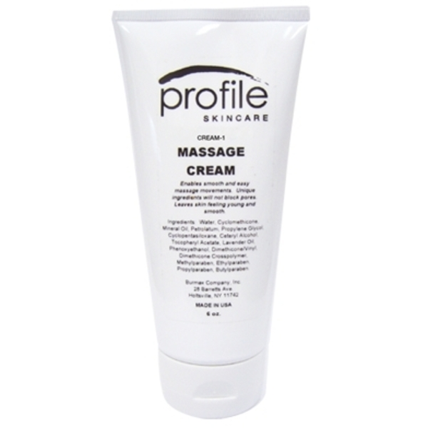 Profile Skincare Massage Cream 6 oz. (CREAM-1)