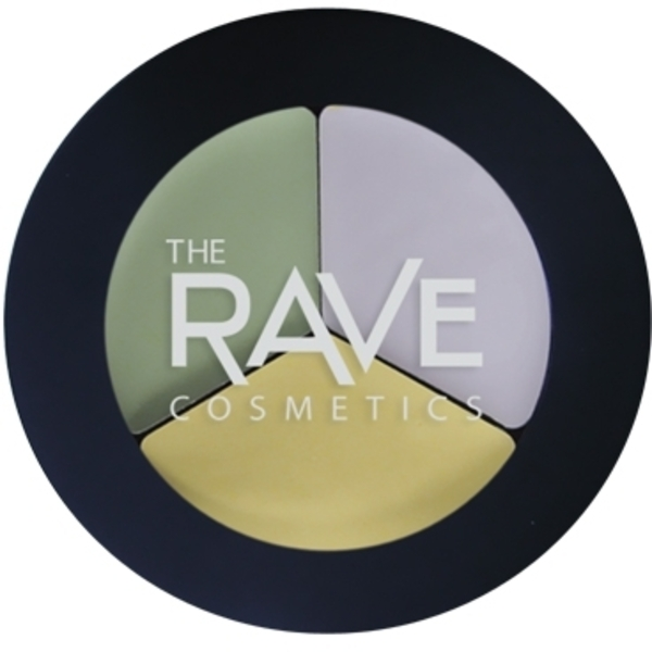 The Rave Cosmetics Concealer Tri-Pot (CONCEAL-1)