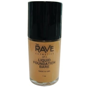 The Rave Cosmetics Liquid Foundation - Bare (WF-4)