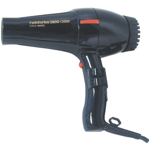 Turbo Power TwinTurbo 2800 Coldmatic Professional Hair Dryer (P-314)