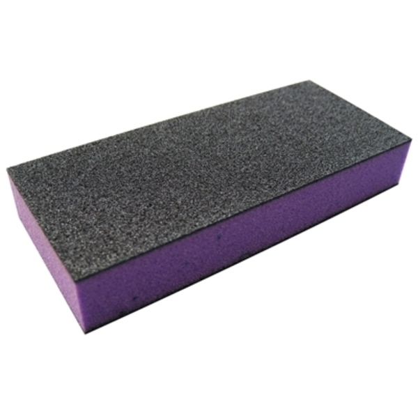 DL Professional Mini Sanding Block Purple Coarse Grit (DL-C151)