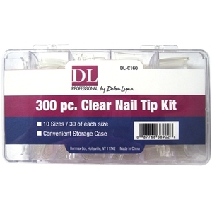 Clear Nail Tip Kit (DL-C160)