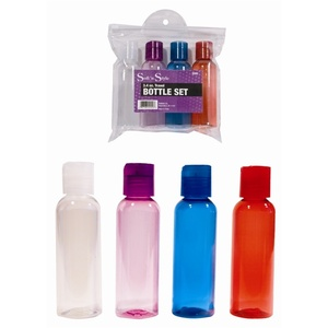 3.4 ounce Travel Bottle Set 4 Pieces (86066)