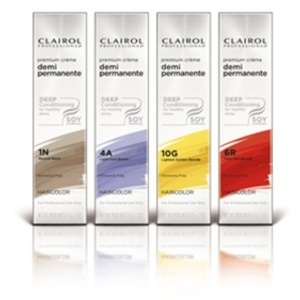 Clairol Premium Creme Demi-Permanent Color / 2 oz. / Light Cool Brown-4A