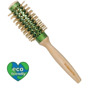 "Scalpmaster Bamboo Collation - 2"" Round BoarNylon Bristle Brush (SC9172)"