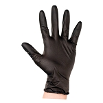 Soft'nStyle - 25 Count Black Disposable Gloves (GLN-25)