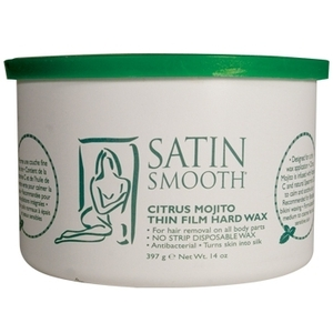 Satin Smooth - Citrus Mojito Thin Film Hard Wax 14 oz. (SSW14MT)