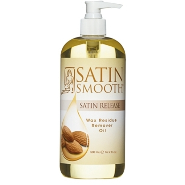 Satin Smooth - Satin Release Wax Residue Remover Oil - 16.9 oz. (SSWLR16)