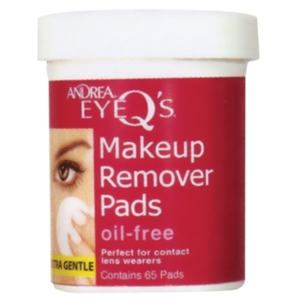 Andrea Eye Q's Oil Free Eye Makeup Remover 65 Pads (AN660500)