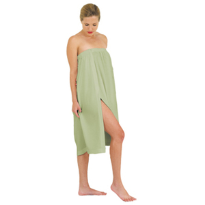 "Waffle Weave Spa Wrap One Size 33"" Long Sage (BD637SG)"