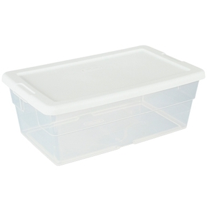 Clear Storage Container With Lid (DL1642)