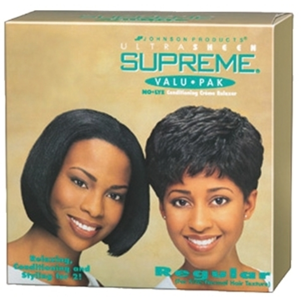 Ultra Sheen Supreme Valu-Pak Relaxer Super - For Coarse or Resistant Hair (84946270)