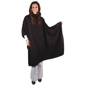 "Ultra Light Microfiber Styling Cape - Soft Black 54"" x 60"" (4040)"