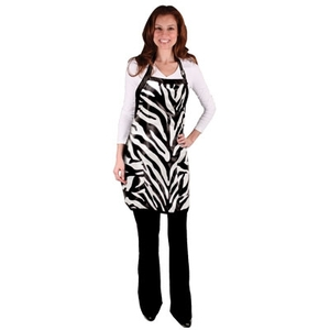 Zebra Salon Apron (4058)