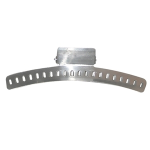 "4"" Aluminum Wave Clamps - 4 Per Card (CD-241)"