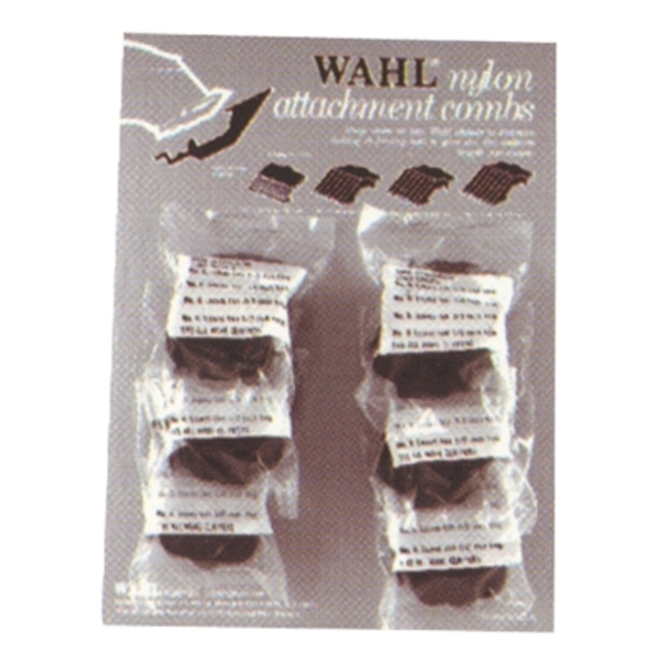 Carded Combs 4 Combs per Bag 6 Bags Display (3165)