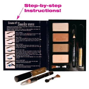 Smoky Eyes Kit Gold Brown (WX1987D)
