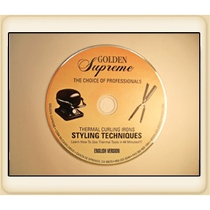 Thermal Curling Iron Styling Techniques - Styling DVD (GS-2550)