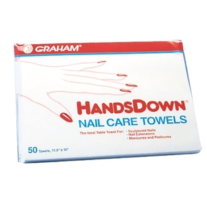 "Handsdown Nail Care Towels 12""X16"" 50Pack (42910-PK)"
