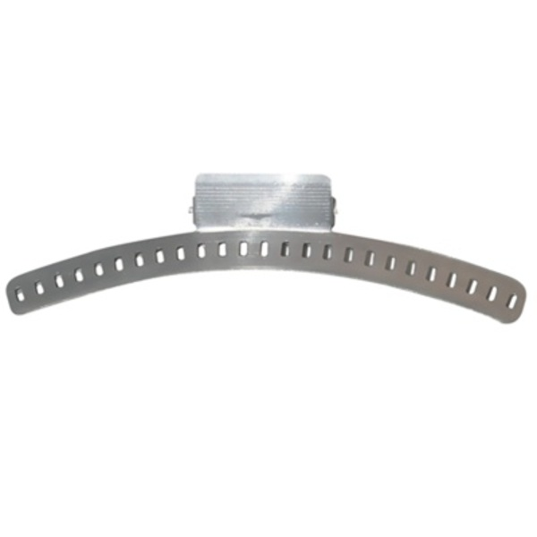 "5"" Aluminum Wave Clamp - 4 Per Card (CD-242)"