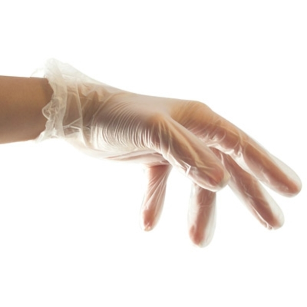 Disposable Vinyl Gloves - 100 Count Small (GLV-100S)