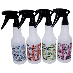 16 oz. Spray Bottle With Grafitti Hairstyle Print (TL300290)