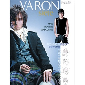 Varon Men's Cut and Style Technique Book (DB-VARON)