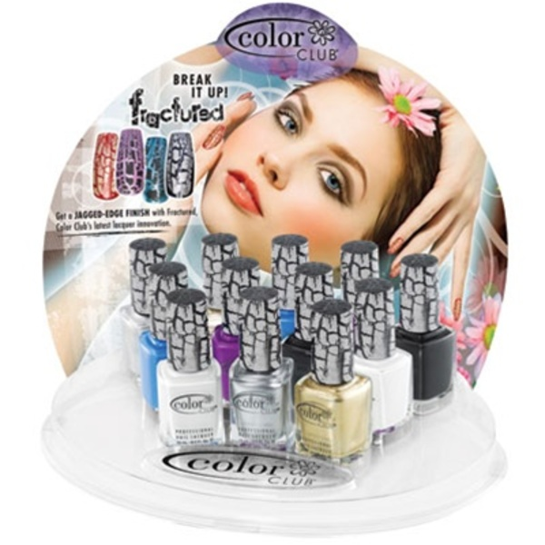 12 Piece Fractured Polish Display - Shatter Polish! (05DCCFX18)