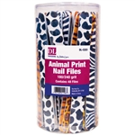 Animal Print Nail File Display 48 Files (DL-C223)