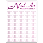 "Nail Art Wall Mount Display - 24""L X 17""W (DL-C193)"